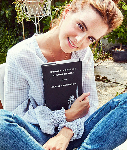 Les 10 recommandations littéraires d'Emma Watson