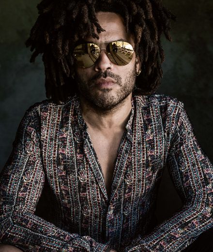 Meeting with Lenny Kravitz, unbeatable rock icon