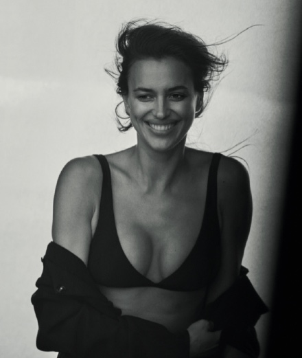 "Interview with Irina Shayk :  ""Being exposed, it is a part of my profession"""