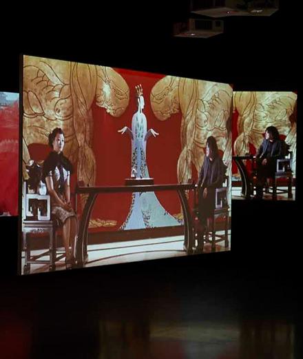 Isaac Julien convoque Maggie Cheung et une Chine fantasmagorique dans un film poignant