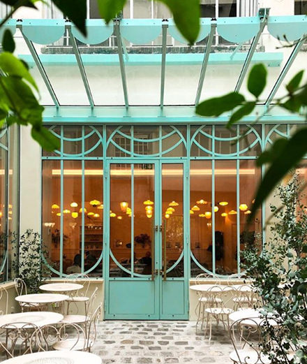 Le jardin secret de la pâtisserie Bontemps