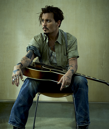Johnny Depp, Charlotte Gainsbourg and The Blaze under the lens of Jean-Baptiste Mondino