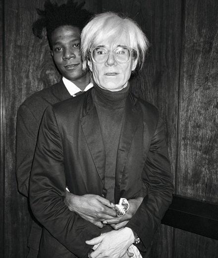 Des photos inédites de Jean-Michel Basquiat prises par Andy Warhol publiées par Taschen