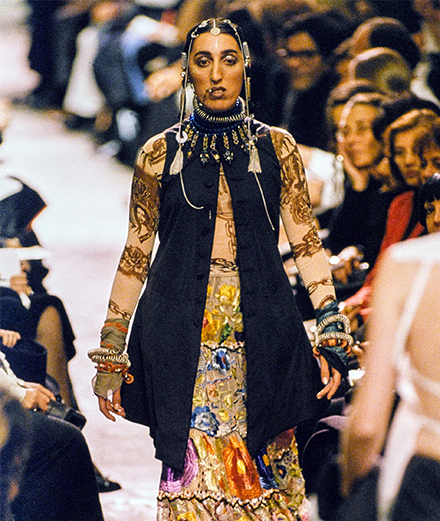 Jean Paul Gaultier en 5 collections cultes