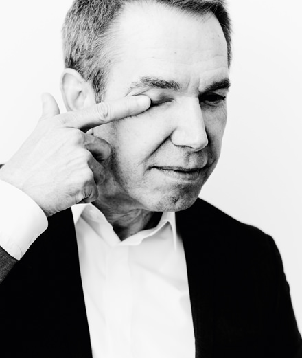 """Interview with Jeff Koons : """"I don't believe in kitsch"""""""