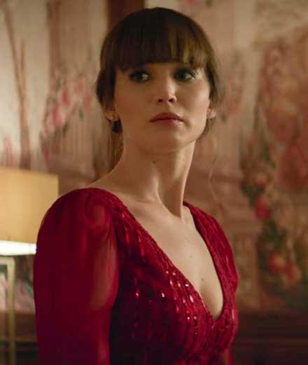 """Jennifer Lawrence en dangereuse séductrice dans """"Red Sparrow"""""""