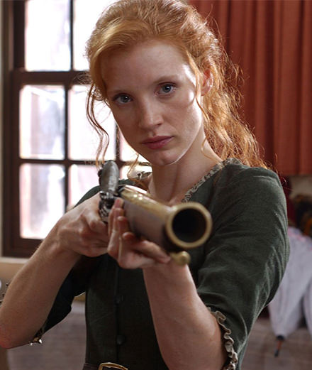 Jessica Chastain's 5 most unlikely roles
