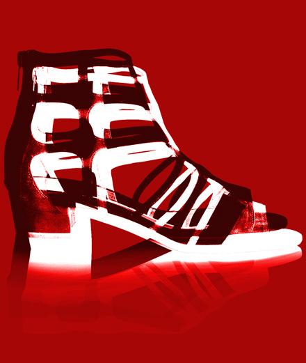 L'objet fétiche : les sandales cage Jimmy Choo