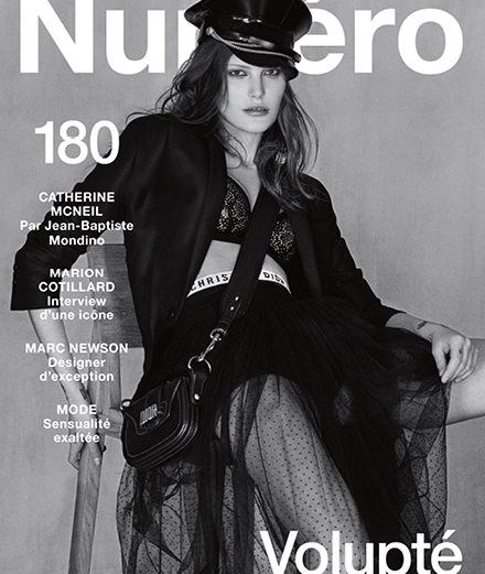 Marion Cotillard, Marc Newson, Catherine McNeil par Jean-Baptiste Mondino... Découvrez le Numéro de février 2017