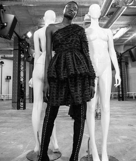 Backstage : le défilé Anaïs Jourden automne-hiver 2018-2019 vu par Mehdi Mendas