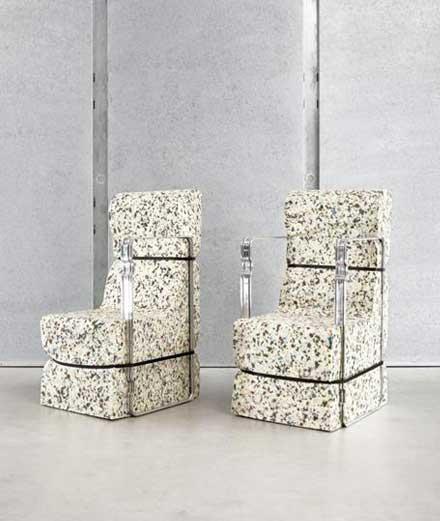 L'objet du jour : les meubles Kaleidoscope x Rimowa