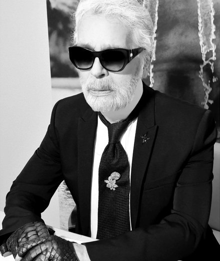 """All the other designers hate me..."" Karl Lagerfeld gets ready to tell all"