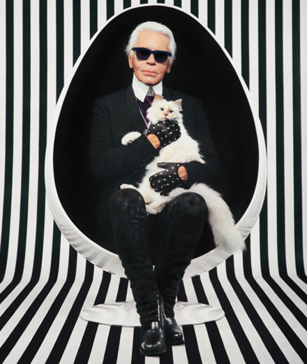 Hommage à mon grand ami Karl Lagerfeld