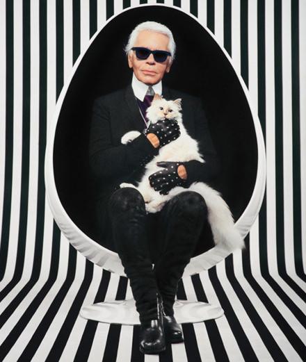 Karl Lagerfeld célébré lors d'une soirée hommage au Grand Palais