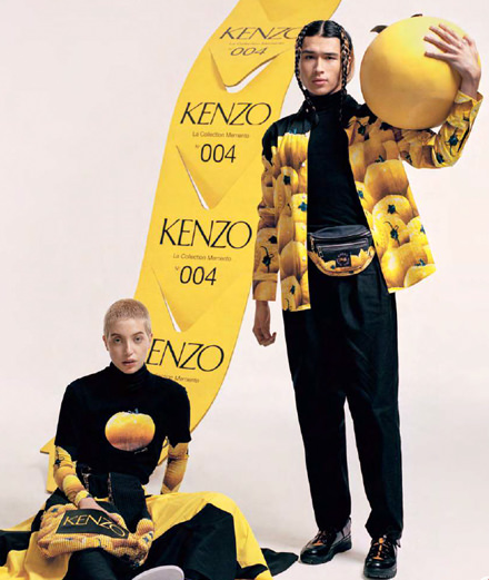 La collection Memento n°4 de Kenzo