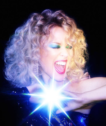 Kylie Minogue comes back as a disco queen