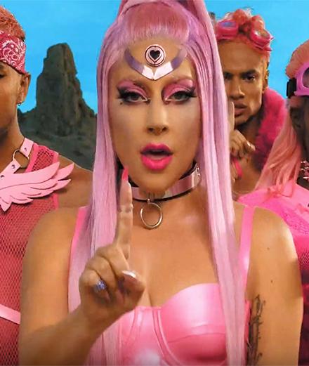 Lady Gaga makes her big comeback as a super-heroine of love