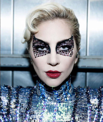 Le beauty look de Lady Gaga au Super Bowl