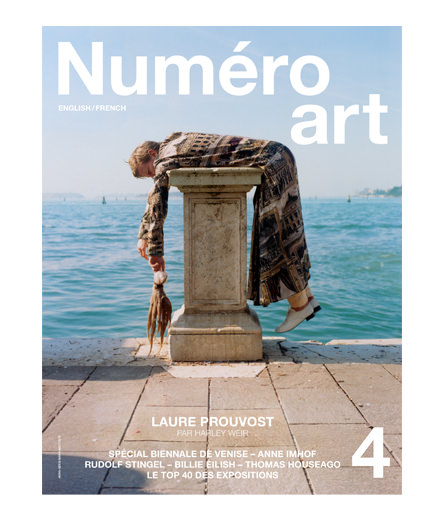 Artist Laure Prouvost is on the cover of Numéro art