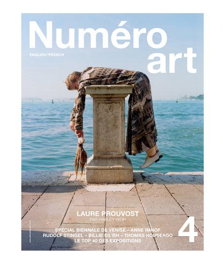 L'artiste Laure Prouvost en couverture de Numéro art