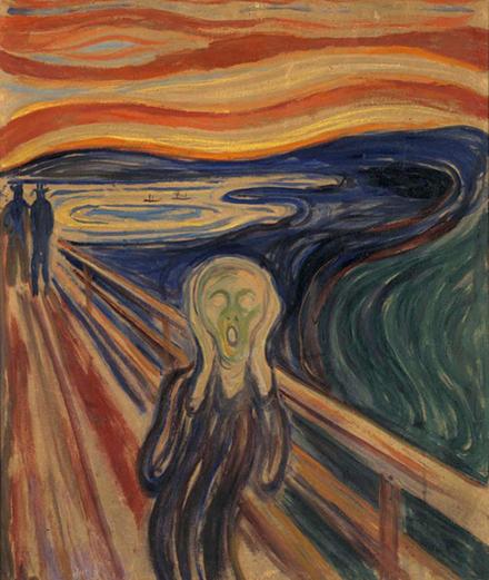 """Comment les visiteurs ont bousillé """"Le Cri"""" de Munch"""