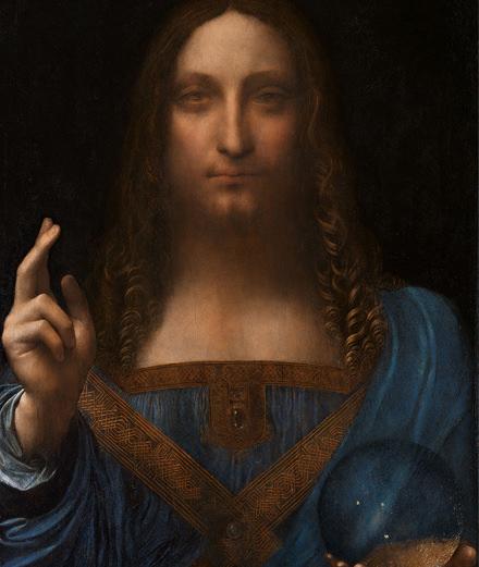 Ce qu'il faut savoir sur l'œuvre de Léonard de Vinci vendue 380 millions d'euros aux enchères