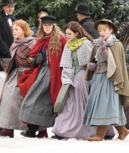 Emma Watson, Saoirse Ronan et Timothée Chalamet dans une romance d'époque