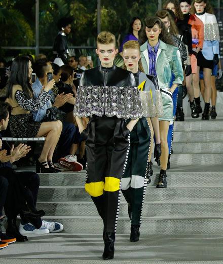 Le défilé Louis Vuitton Croisière 2019-2020 à New York