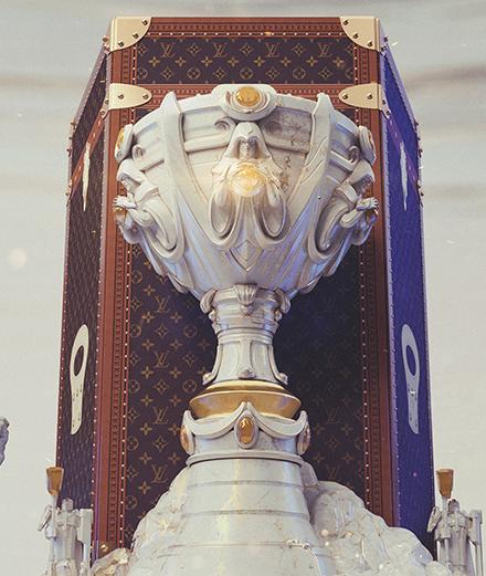 L'objet du jour : la malle Louis Vuitton x League of Legends