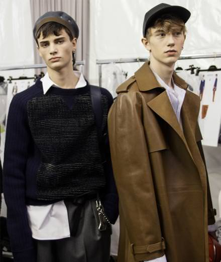 Backstage : Louis Vuitton fall-winter 2017 runway show seen by Mehdi Mendas