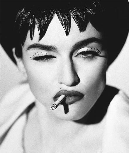 Madonna sous l'objectif des plus grands photographes