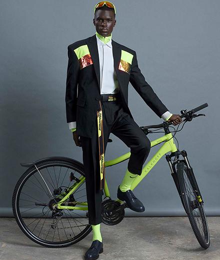 Offrez-vous le portrait de Mamadou Lo par Mondino