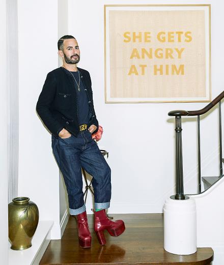 Pourquoi Marc Jacobs met-il en vente sa collection d'art et de design?