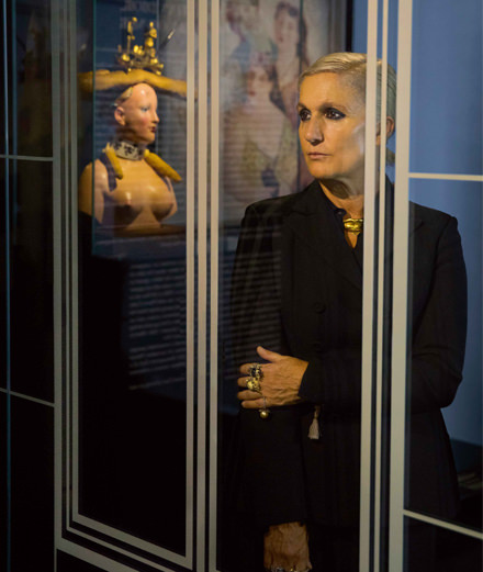"""Women artists face criticism that no one would dare direct at a man"" Interview with Maria Grazia Chiuri"