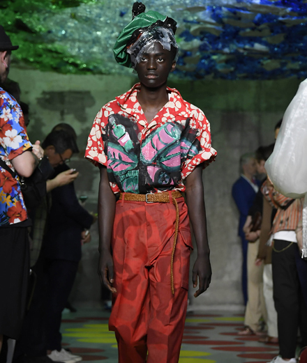 Marni Men Spring-Summer 2020 fashion show