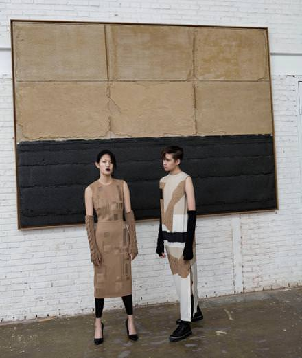 A remarkable collaboration between Max Mara and Chinese artist Liu Wei