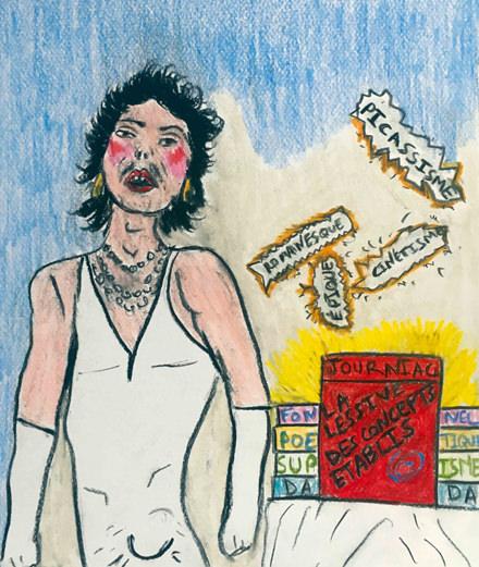 Le jour où Michel Journiac lava son linge (sale) en galerie !