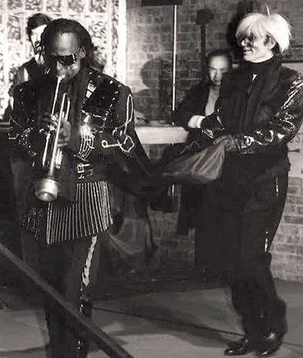 Le jour où Warhol est devenu le serviteur de Miles Davis