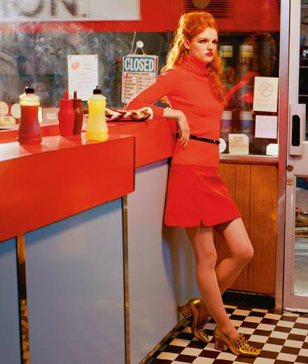 """Exclusive : """"Camden Town"""" a fashion story by Miles Aldridge"""