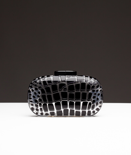 Fetish object of the week: Giorgio Armani Plexiglas clutch