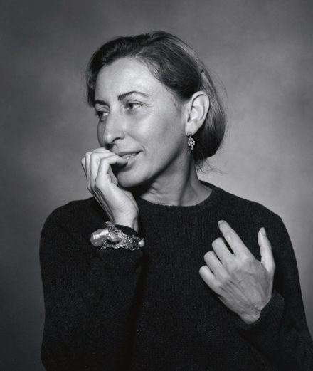 "Interview with Miuccia Prada : ""The word ""beautiful""is overused, just like the words ""luxury"" or ""chic"" in fashion circles."""