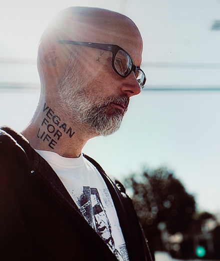 Moby is back with a new dark and political track