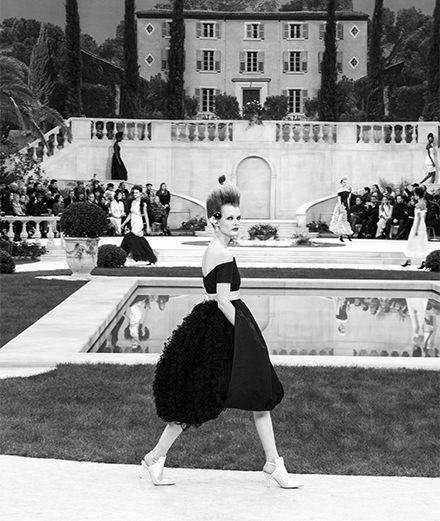 Le défilé Chanel haute couture printemps-été 2019 vu par Mehdi Mendas
