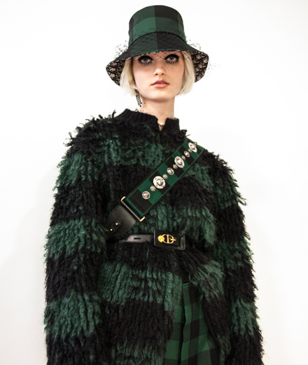 Backstage : le défilé Dior automne-hiver 2019-2020 vu par Mehdi Mendas