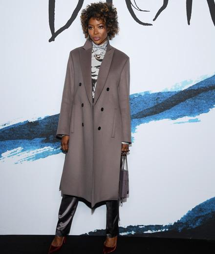 Quelles personnalités étaient présentes au défilé Dior automne-hiver 2019-2020 men's collection?