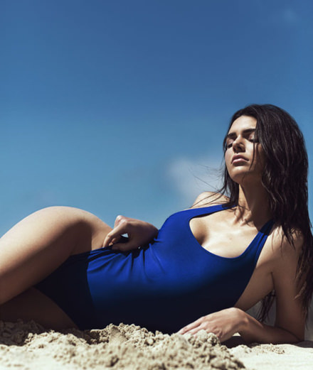 Topshop's swimwear line by Kendall and Kylie Jenner