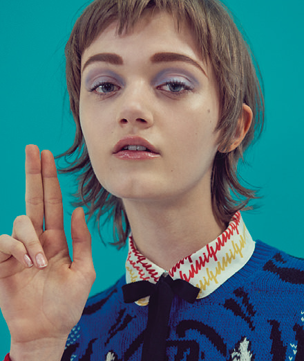 Exclusive: artist Brian Calvin and Sofia Sanchez and Mauro Mongiello's fashion story starring Allyson Chalmers, Willy Morsch, Lorena Maraschi, Sarah Abney, Risa Bellak and Peyton Knight