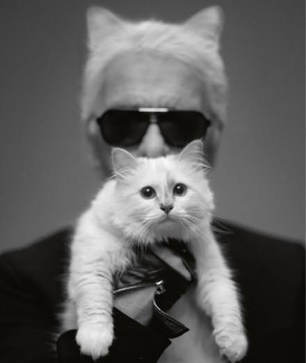 Interview : Karl Lagerfeld et Choupette