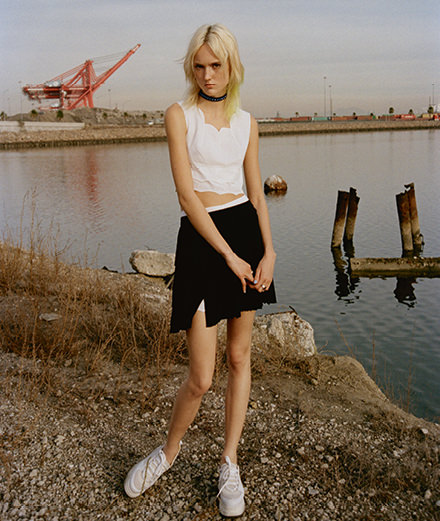 """L.A. girl"" by Yelena Yemchuk with Harleth Kuusik"