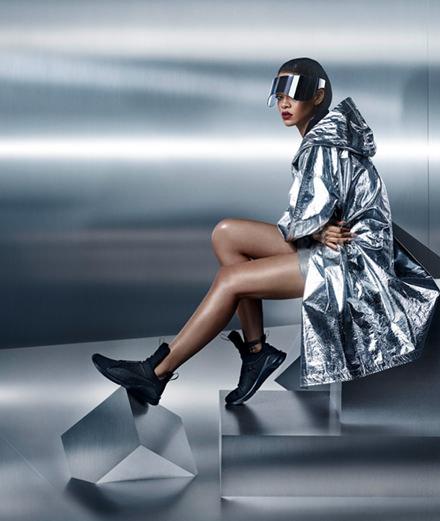 Rihanna : portrait de la carte maîtresse de Puma